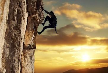 """Escalando o """"céu"""" para liberdade"""