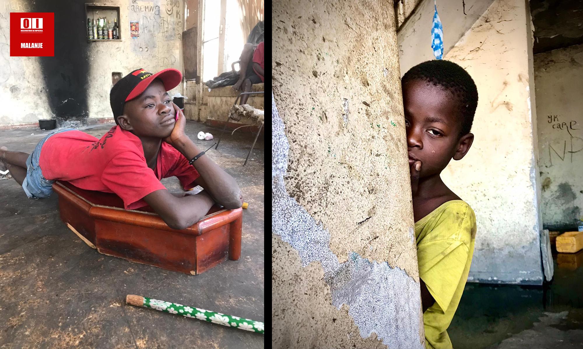 """Miséria infantil em Malanje: Reflexo de um país """"governado"""" por criminosos"""